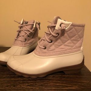 Sperry Saltwater Quilted Wool Boots